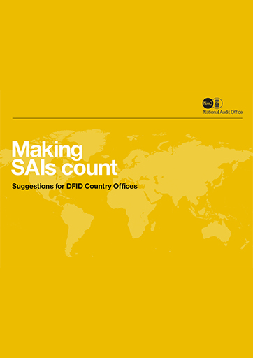 Making SAIs Count: Suggestions for DFID Country Offices